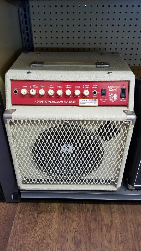 SWR STRAWBERRY BLONDE Acoustic Combo Guitar Amp 80w