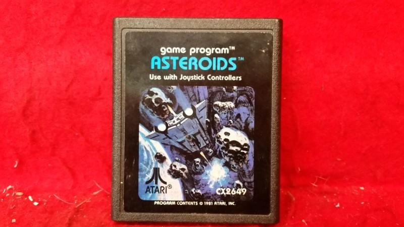 Asteroids (Atari 2600, 1981)
