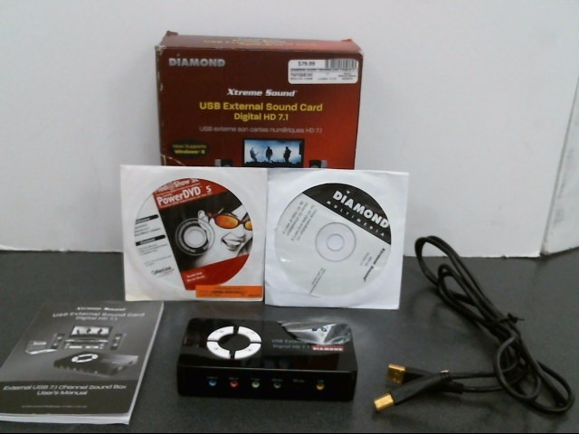 DIAMOND XTREME SOUND Computer Accessories XS71U