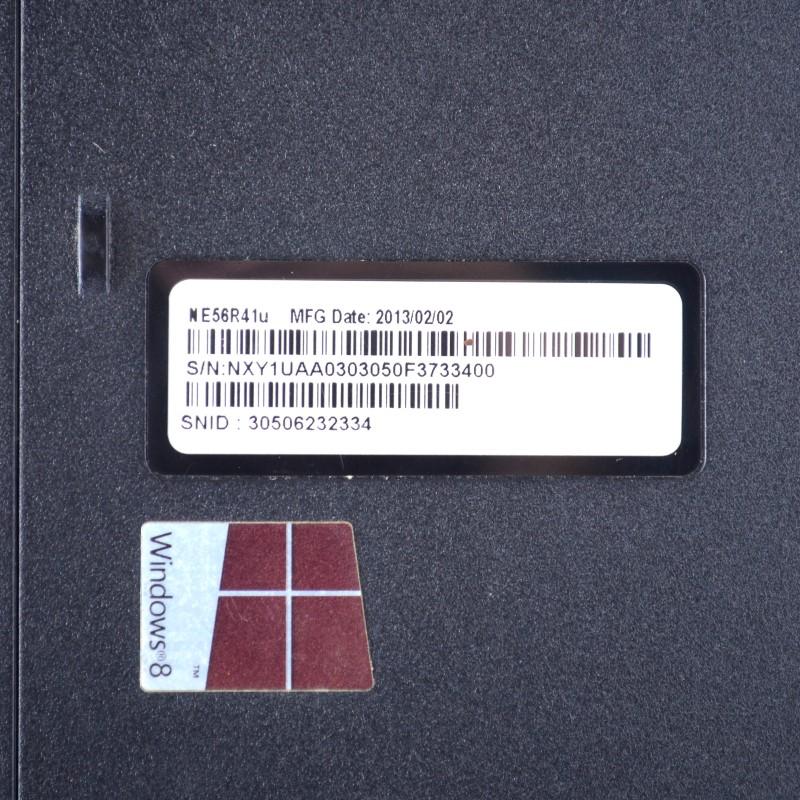 Gateway NE56R41U 4GB RAM Intel Pentium 2.20GHz 500GB Laptop *AS-IS*