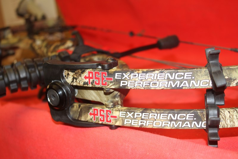 2016 PSE BRUTE FORCE RH 50-70# BOW PACKAGE MOSSY OAK COUNTRY CAMO 332 FPS