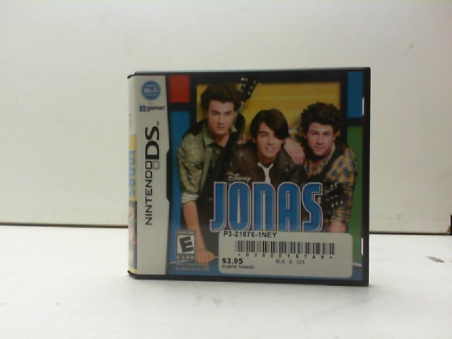 NINTENDO Nintendo DS Game DISNEY JONAS