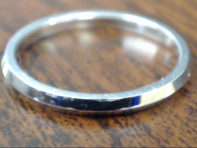 ESTATE JABEL WEDDING RING BAND SOLID REAL 18K WHITE GOLD SIZE 4.75