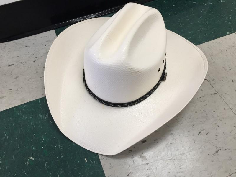 JUSTIN STRAW COWBOY HAT