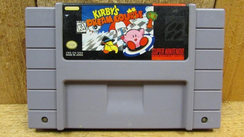 NINTENDO Nintendo SNES Game KIRBY'S DREAM COURSE SNES