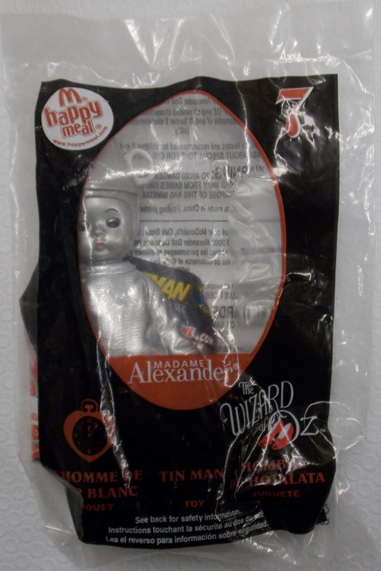 MCDONALDS 2008 WIZARD OF OZ HAPPY MEAL TOYS #1-12