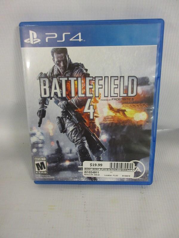 Battlefield 4, PS4