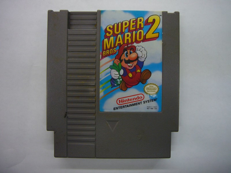 NINTENDO NES Game SUPER MARIO BROS 2 *CARTRIDGE ONLY*