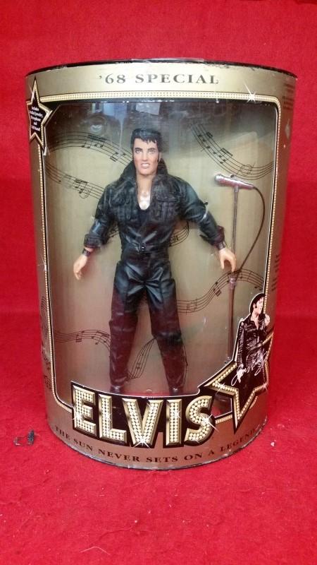 Elvis Presley '68 Special Doll Boxed Hasbro c1993