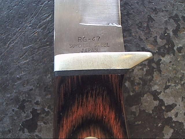 RIGID KNIVES Hunting Knife RG-47