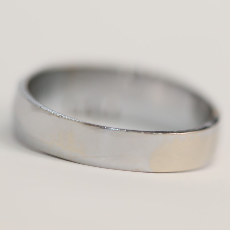 "Personalized ""SCOTT"" Silver Ring Size 11.75"
