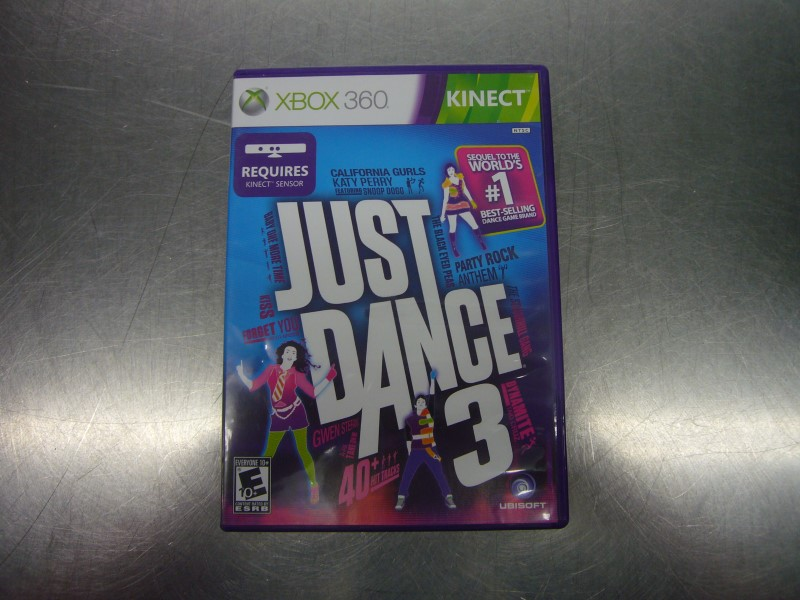 MICROSOFT XBOX 360 Game JUST DANCE 3