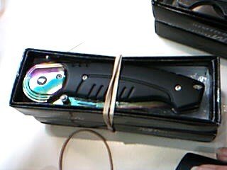 MASTER CUTLERY Pocket Knife MT-A854RBK