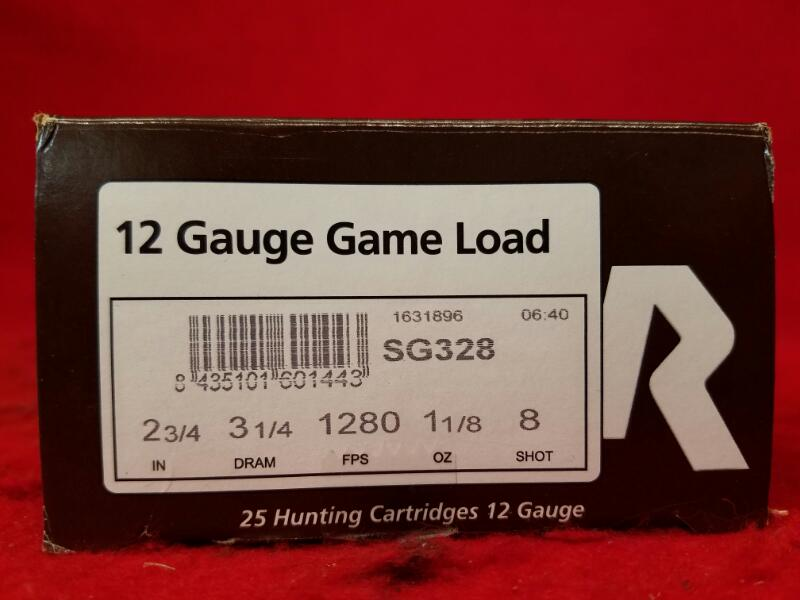 "Rio 12ga Game Load 2-3/4"" Ammo - 8 Shot"