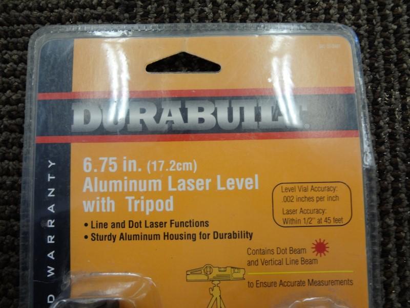 "DURABUILT Miscellaneous Tool 6.75"" IN LASER LEVEL"