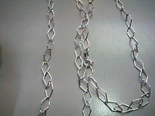 "28"" Silver Chain 925 Silver 5.5g"