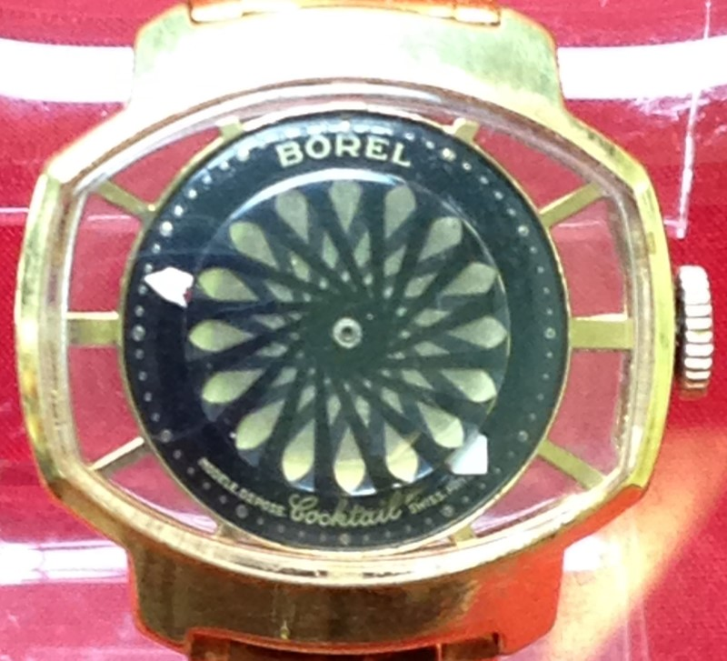 BOREL WATCH Lady's Wristwatch COCKTAIL