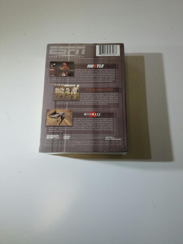 *NEW* ESPN 3-DVD Sports Pack (Ultimate, Hustle, & Four Minutes)