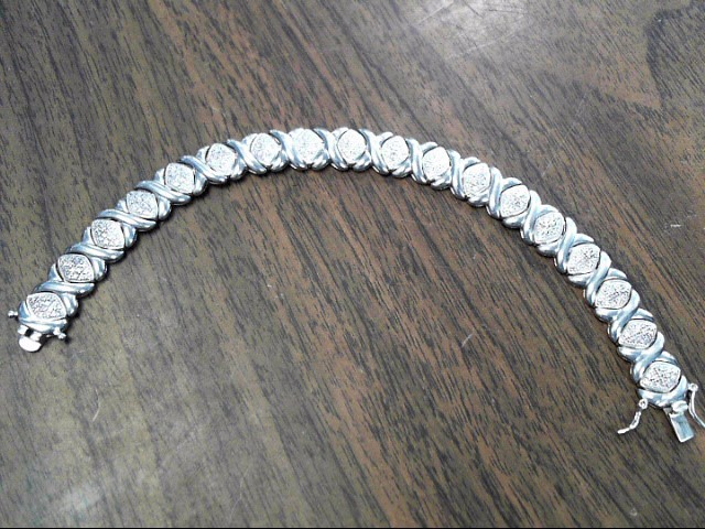 Silver Bracelet 925 Silver 16.2dwt