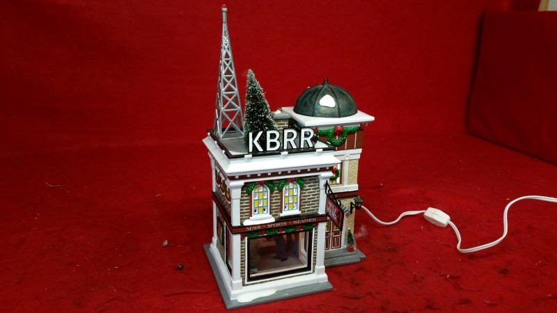Department 56 Snow Village KBRR TV 55337 Retired