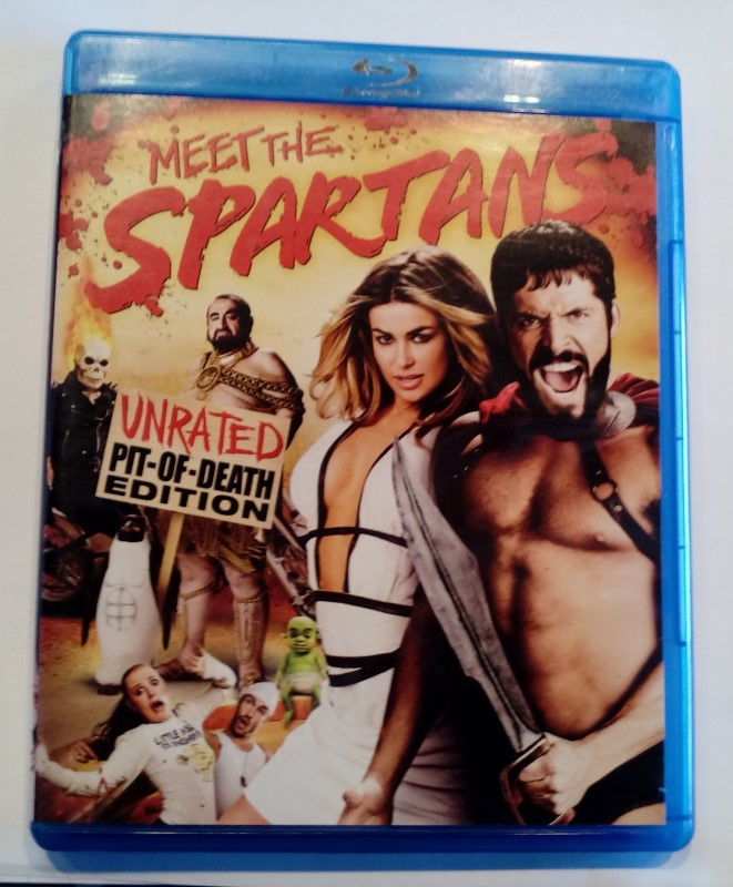 BLU-RAY MOVIE MEET THE SPARTANS UNRATED