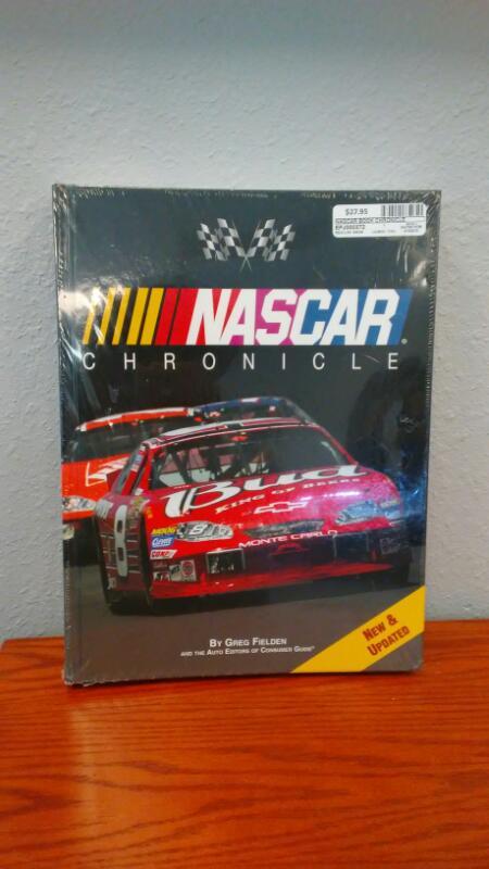 NASCAR Non-Fiction Book CHRONICLE