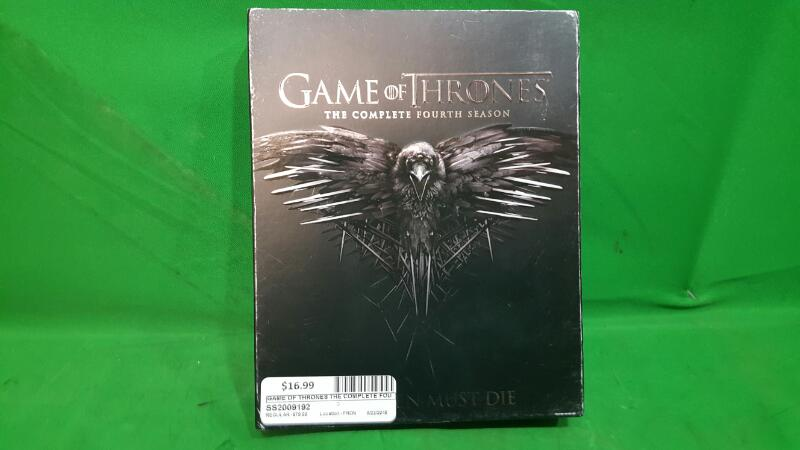 Game of Thrones The Complete Fourth Season 4 (DVD, 5-Disc Set)