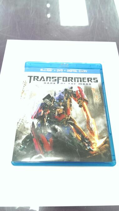BLU-RAY TRANSFORMERS DARK OF THE MOON
