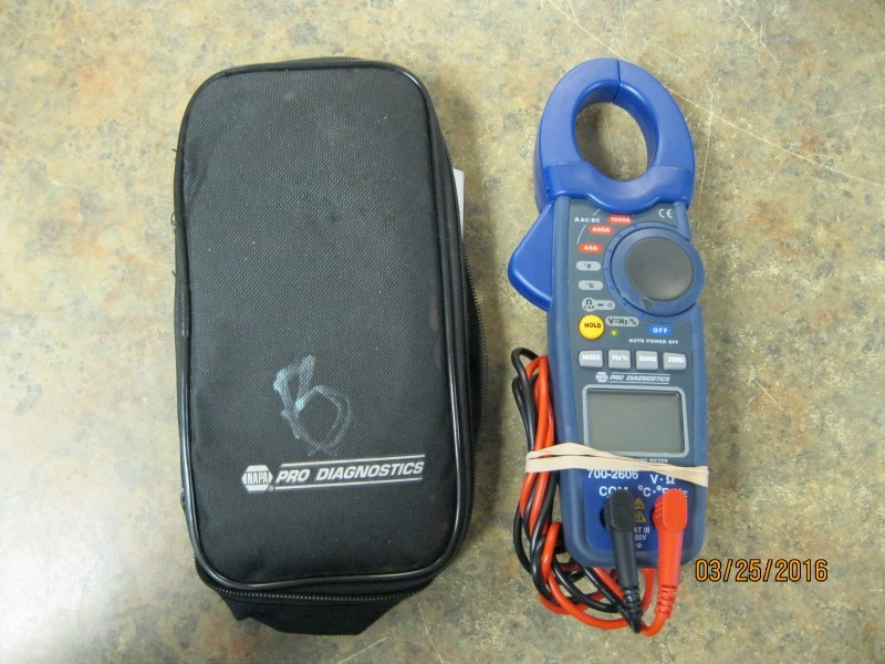 NAPA Multimeter 700-2606
