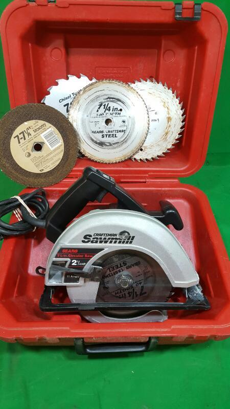 CRAFTSMAN Circular Saw Sawmill 315.108241