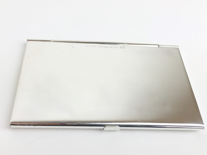 Tiffany & Co. Sterling Silver Card Holder 57.7g