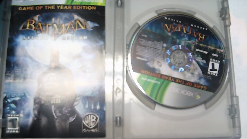 MICROSOFT Microsoft XBOX 360 Game BATMAN ARKHAM ASYLUM - XBOX 360