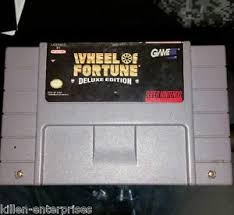 NINTENDO Nintendo SNES Game WHEEL OF FORTUNE DELUXE EDITION