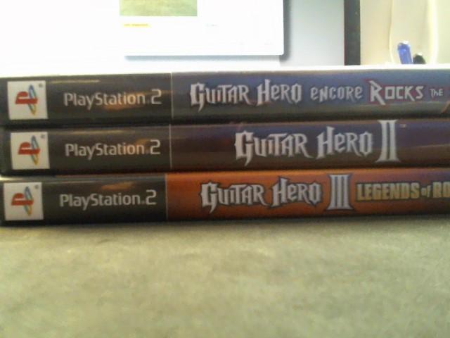 SONY Sony PlayStation 2 Game GUITAR HERO PLAYSTATION 2