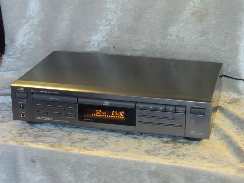 JVC CD Player Model XL-V 151 TN Tested Working