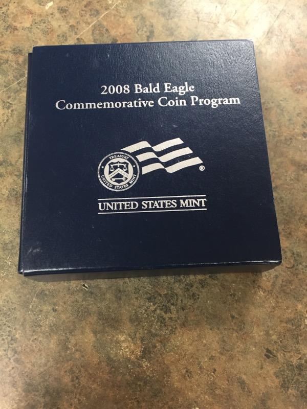 UNITED STATES Silver Coin 2008 BALD EAGLE