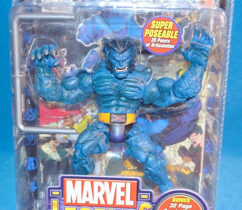 TOY BIZ 70379 MARVEL LEGENDS THE BEAST SERIES IV SUPER POSEABLE FIGURINE