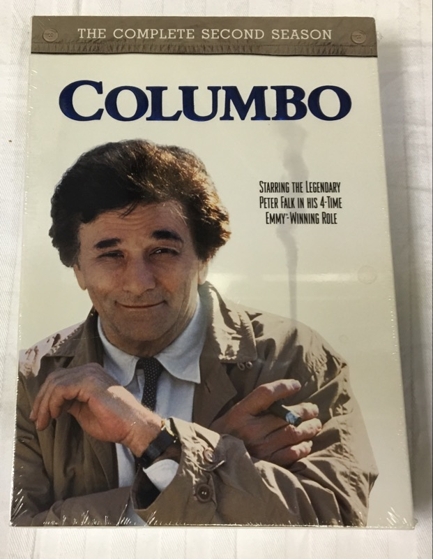 DVD MOVIE COLUMBO: THE COMPLETE SECOND SEASON (1972)