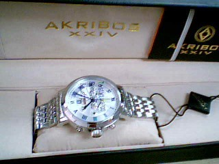AKRIBOS MEN'S WRISTWATCH XXIV