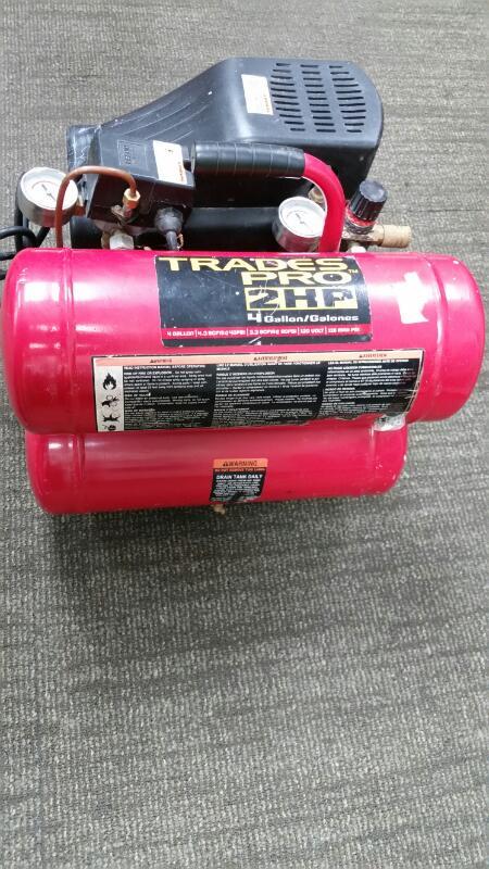ALLTRADE Air Compressor TRADES PRO 830210