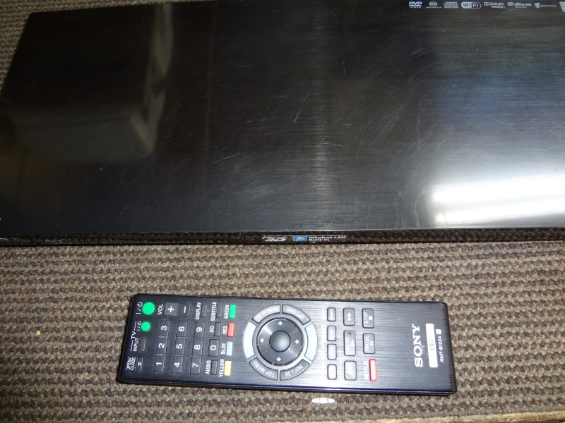 SONY DVD PLAYER BDP-S790 W/REMOTE