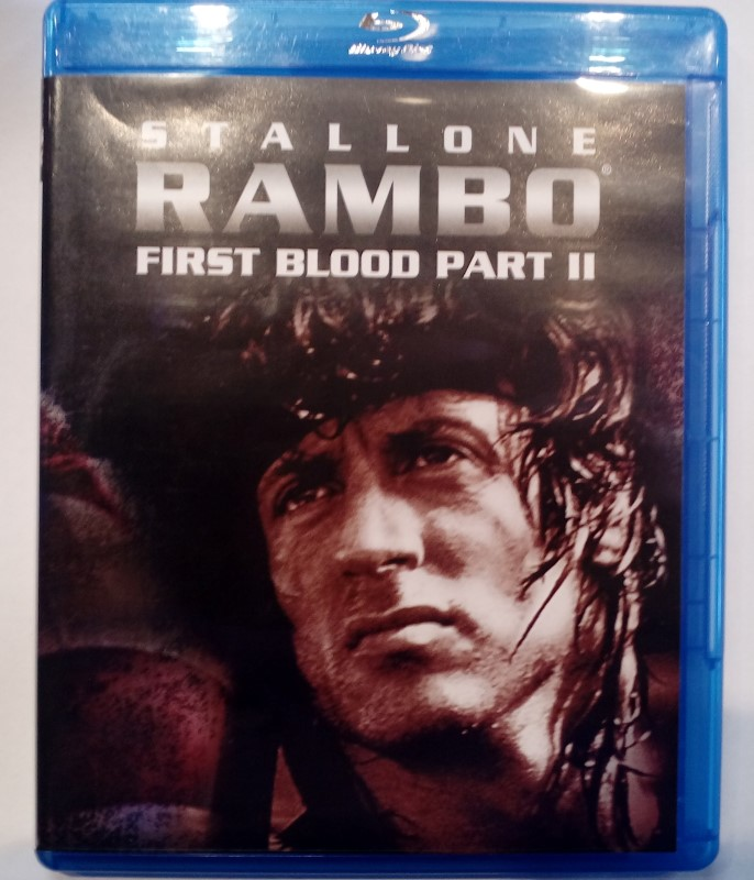 RAMBO FIRST BLOOD PART II BLU-RAY
