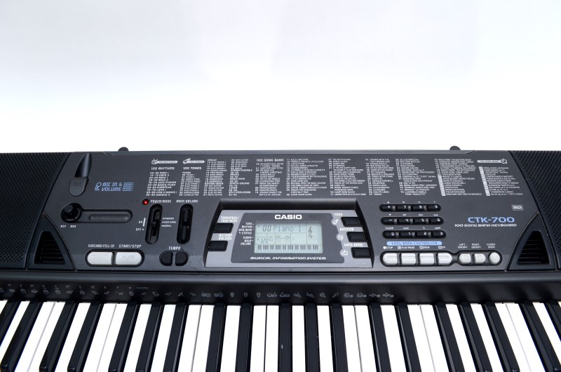 CASIO CTK700 KEYBOARD SYNTHESIZER-61 KEY-100 SONG BANK-FREE SHIP!