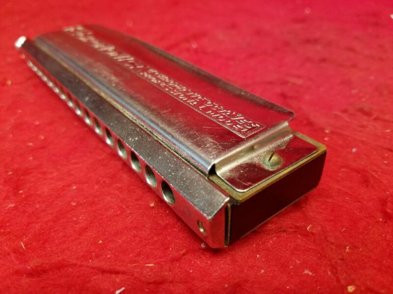 M Hohner 64 Chromonica 280-C Professional Harmonica