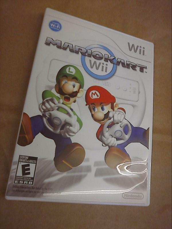 NINTENDO Wii Game MARIOKART WII