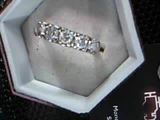 Lady's Diamond Wedding Set 6 Diamonds 1.50 Carat T.W. 14K Yellow Gold 4.36g