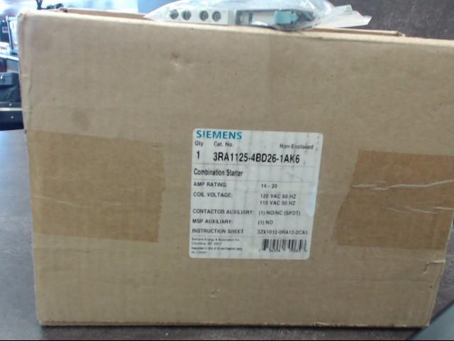 SIEMENS Miscellaneous Appliances 3RA1125-4BD26-1AK6