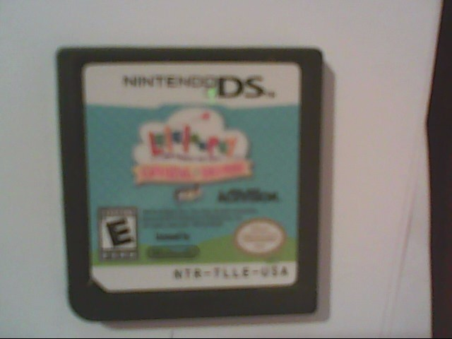 NINTENDO DS Game LALALOOPSY CARNIVAL OF FRIENDS