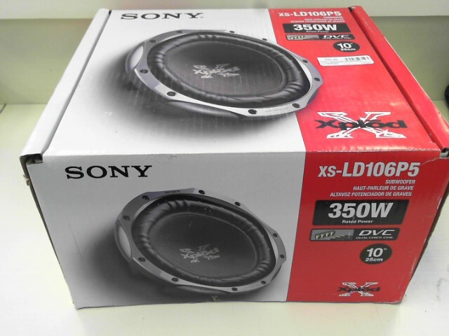 SONY Speakers/Subwoofer XS-LD106P5
