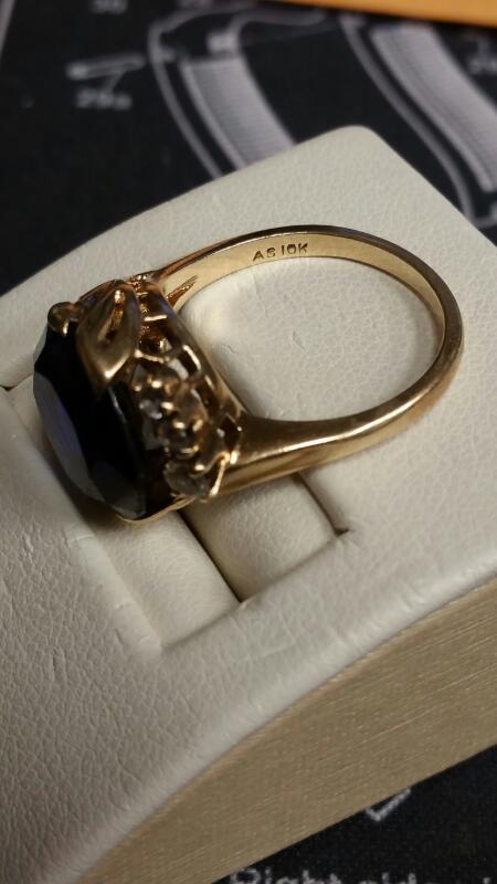 Lady's Gold Ring 10K Yellow Gold 4dwt